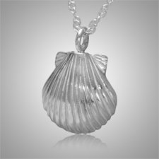 Seashell Nature Keepsake Pendant
