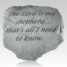 The Lord Is My Shepherd Stone