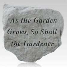 As The Garden Grows Stone