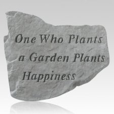 One Who Plants A Garden Stone