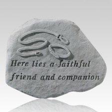 Here Lies A Faithful Friend Stone