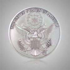 American Seal Medallion Appliques
