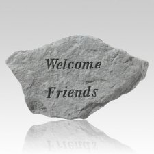 Welcome Friends Rock