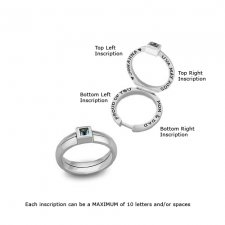Baby Princess Treasure Keepsake Ring