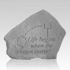 Life Begins Football Rock