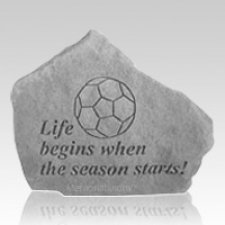Life Begins Soccer Rock