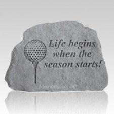 Life Begins Golf Rock