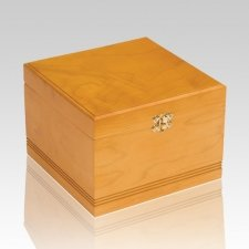 Glorious Chest Wood Cremation Urn