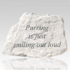 Purring Memorial Stone