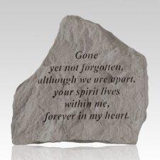 Gone Yet Not Forgotten Pet Memorial Stone