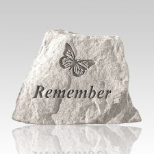 Remembering Butterfly Memorial Stone