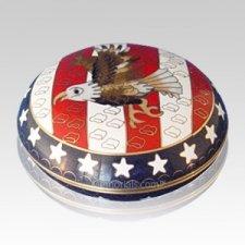 Patriot Cloisonne Jewel Dish