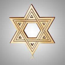 Star of David Medallion Appliques