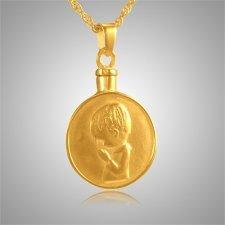 Praying Boy Keepsake Jewelry IV