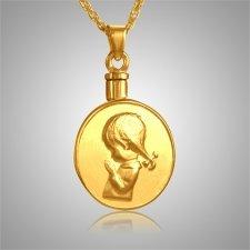 Praying Girl Keepsake Jewelry II