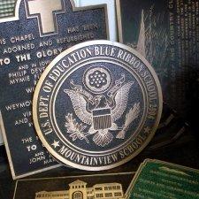 Firefighter Truck Bronze Plaque
