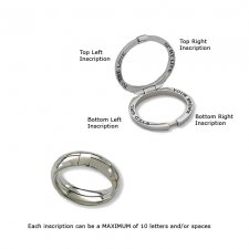 Treasure Wide Band Memory Ring