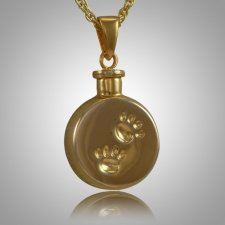 Pet Paw Signet Cremation Keepsake II