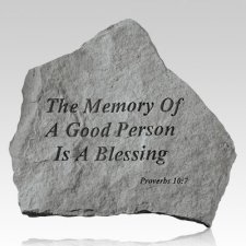 Memory Of A Good Person Stone
