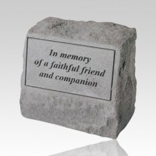 In Memory Pet Cremation Headstone