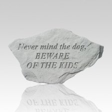 Mind The Dog Memorial Stone