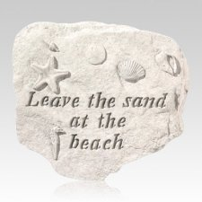 Leave Sand At The Beach Stone