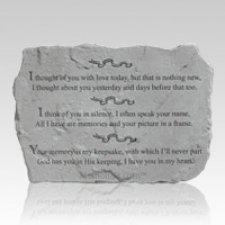 Silent Love Pet Memory Stone
