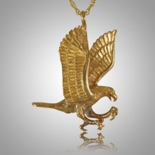 Flying Eagle Cremation Jewelry IV