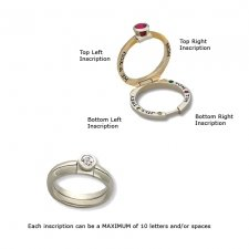 Empress Treasure Memory Ring