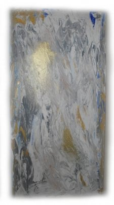 Inspiration in Life Cremation Ash Painting