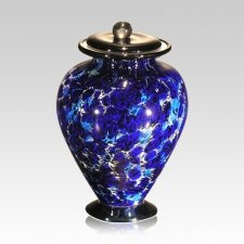 Acqua Small Glass Cremation Urn