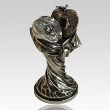 Adam & Eve Patina Tree Keepsake Urn
