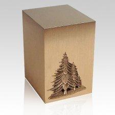 Ardor Pine Bronze Cremation Urn