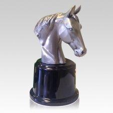 Arion Nickel Horse Cremation Urn