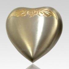 Avalon Pewter Heart Keepsake Cremation Urn