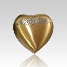 Avalon Bronze Heart Pet Urn