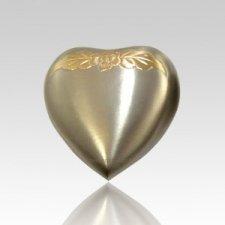 Avalon Pewter Heart Pet Urn
