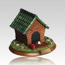 Backyard Dog House Medium Urn