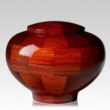 Benton Medium Wood Urn