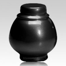 Black Coronet Pet Cremation Urns