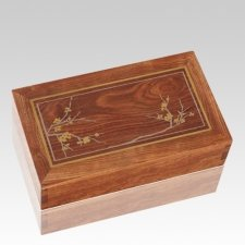 Blooming Caribbean Cremation Urn