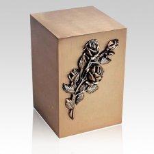 Blossoms Bronze Cremation Urn