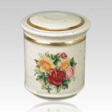 Bouquet Porcelain Child Cremation Urn