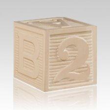 Building Blocks Child Cremation Urn II