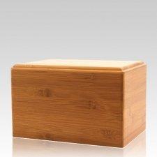 Bamboo Pet Eternity Medium Wood Urn