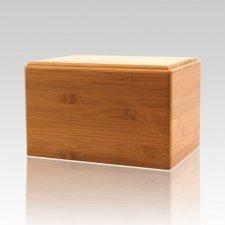 Bamboo Eternity Small Wood Urn
