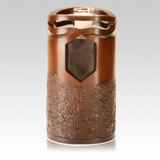 Infinity Wood Cremation Urn