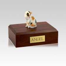 Calico Grooming Small Cat Cremation Urn