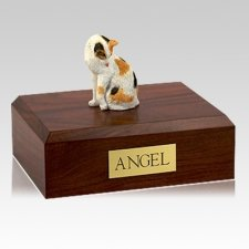 Calico Grooming X Large Cat Cremation Urn