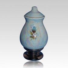 Callista Blue Keepsake Cremation Urn
